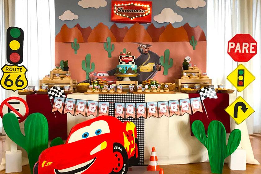 Festa a tema cars party bag