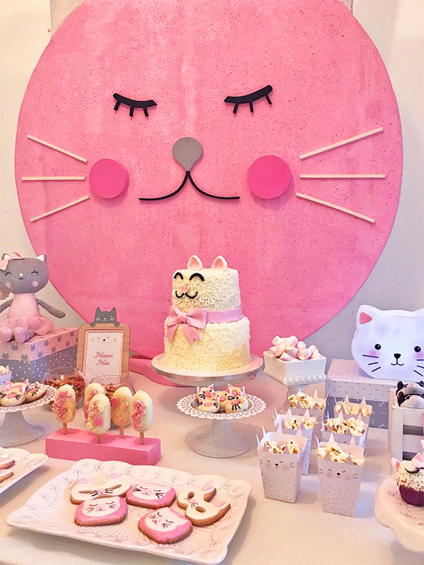 Festa a tema Gatto party bag