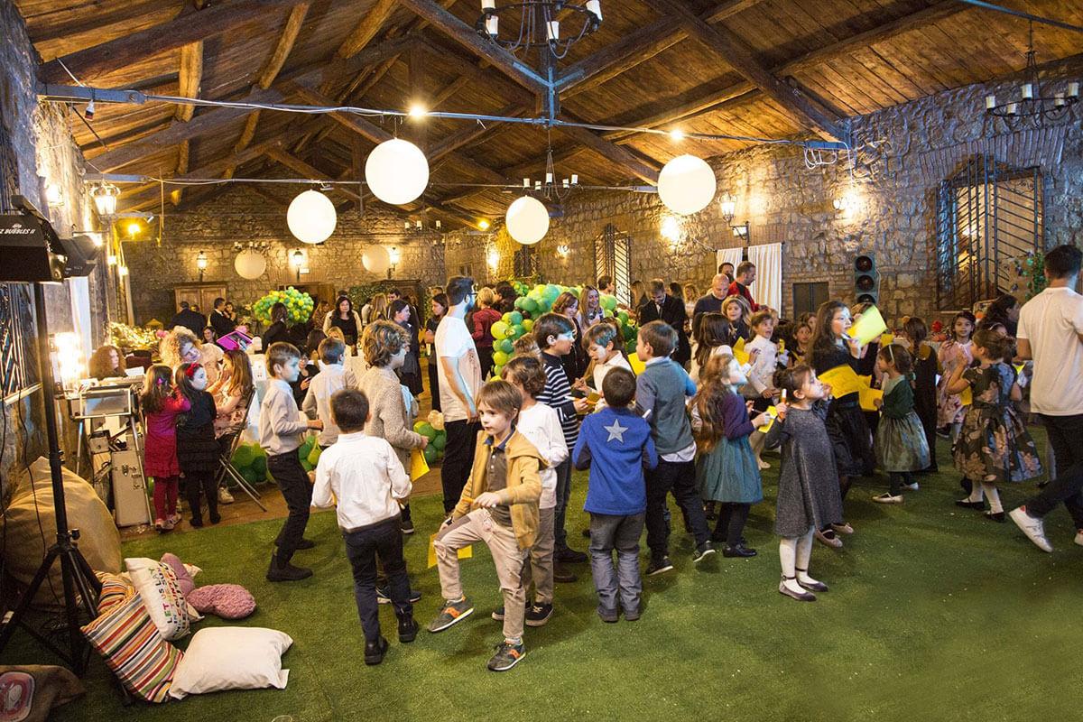 Organizzare eventi per bambini.