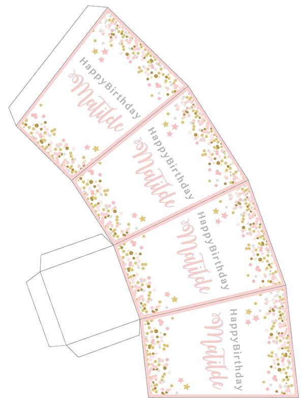 Festa a tema twinkle twinkle little star party bag.
