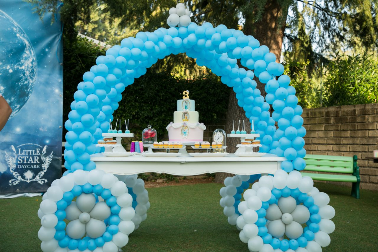 Il party a tema Principesse Disney.