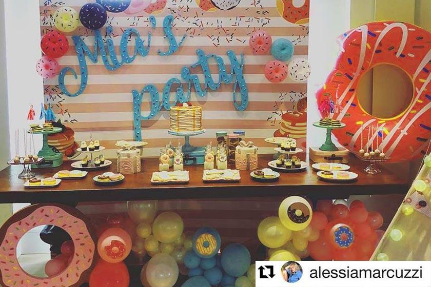Alessia Marcuzzi - Mia Piagiama Party