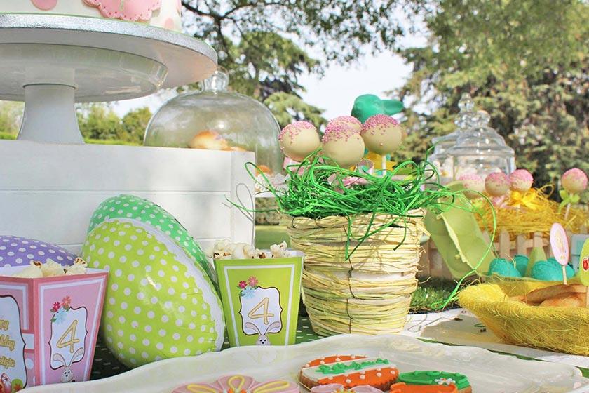 Celebra la primavera con la mia festa a tema Pasquale.