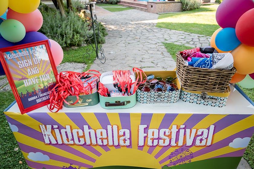 Il Kidchella Party è una vera esplosione di energia, musica e colori.