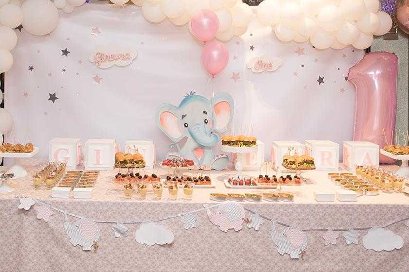 La festa a tema elefantino porta fortuna e vi mette le ali.