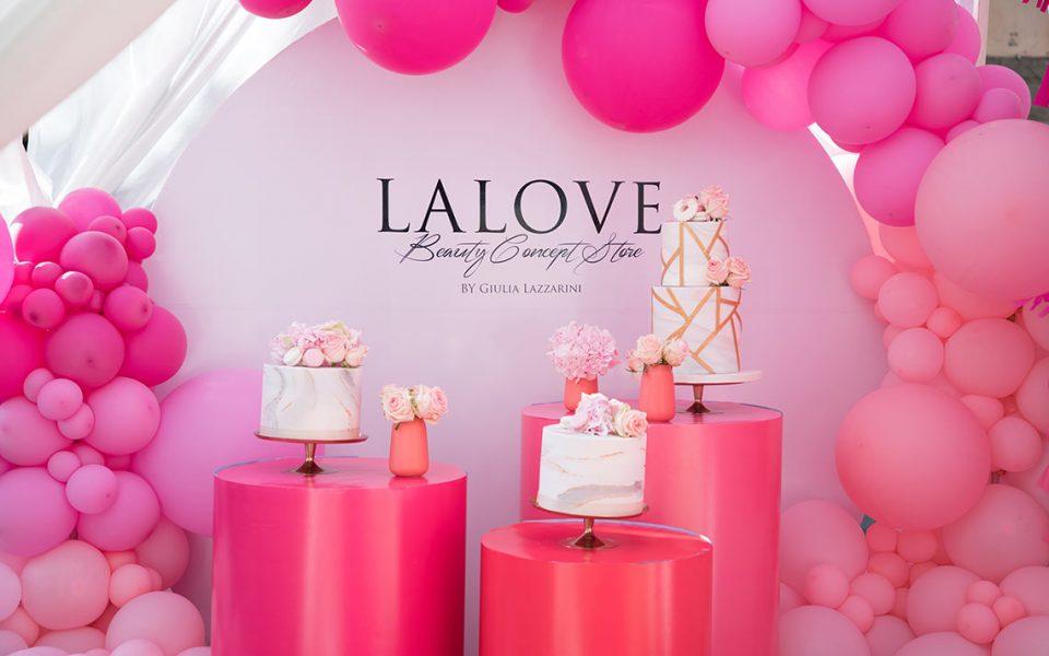 Inaugurazione dello store La Love con una festa beauty.