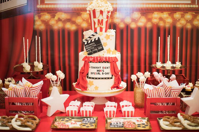 Allestire una festa a tema cinema proprio come un film campione d'incassi.